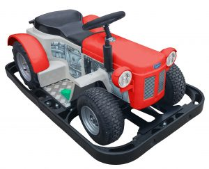 New style tractor in Red
